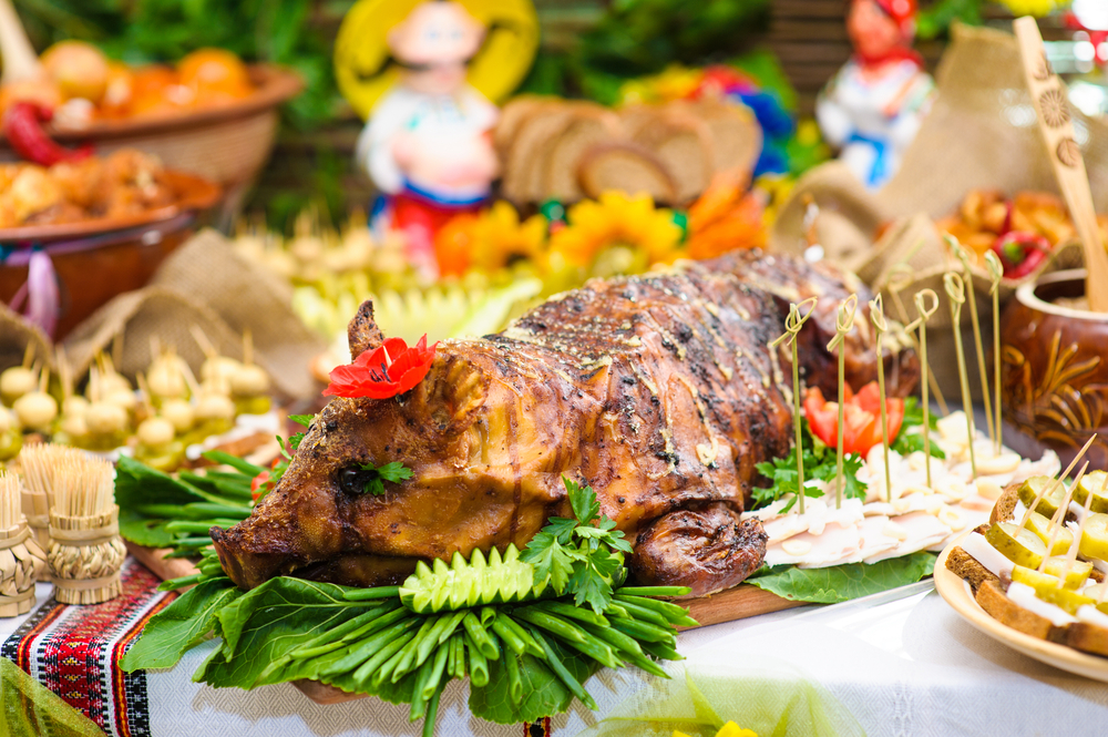 wedding hog roast catering