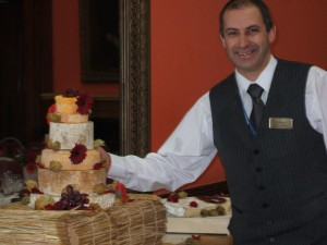 David Wedding Cheesecake